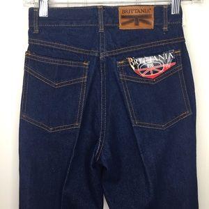 ⭐️ Brittania 916 Vintage High Rise Mom Jeans Sz 26